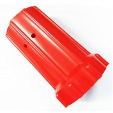 Колпак для баллона 40/50 л  (пластик, красный)