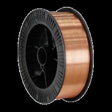 Проволока сварочная омедненная ER70S-6 (СВ08Г2С-О) d=1.2мм, D-300, 15кг