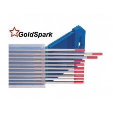 Вольфрамовые электроды WT-20 GoldSpark d-1,0мм (красные)