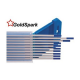 Вольфрамовые электроды WY-20 GoldSpark d-2,0мм (темно-синие)